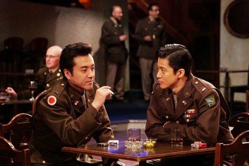 《兩個祖國》劇照。 圖/東京電視台