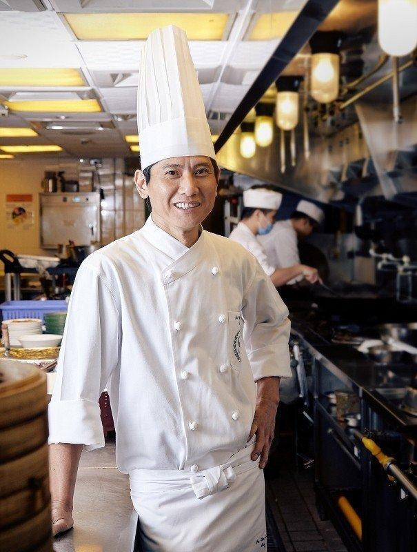 台北喜來登請客樓行政主廚林菊偉。 喜來登/提供