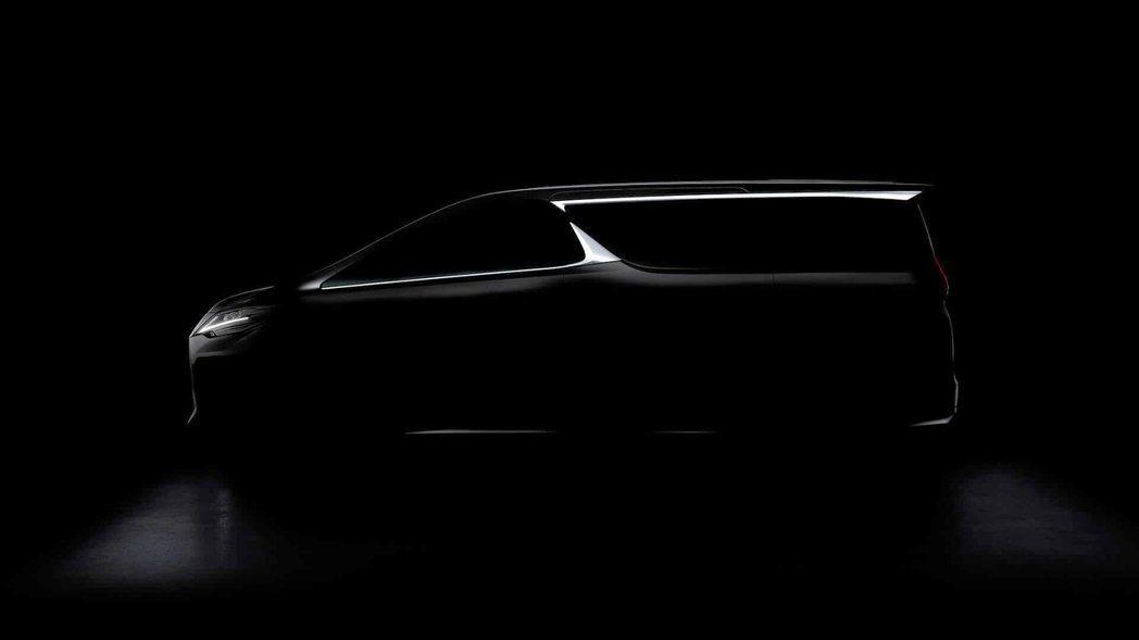 全新Lexus LM豪華MPV將於2019上海車展中發表。 摘自Lexus