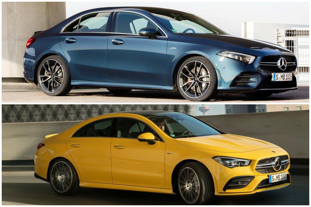 全新AMG A 35 Sedan與AMG CLA 35都在近期相繼亮相。 摘自M...
