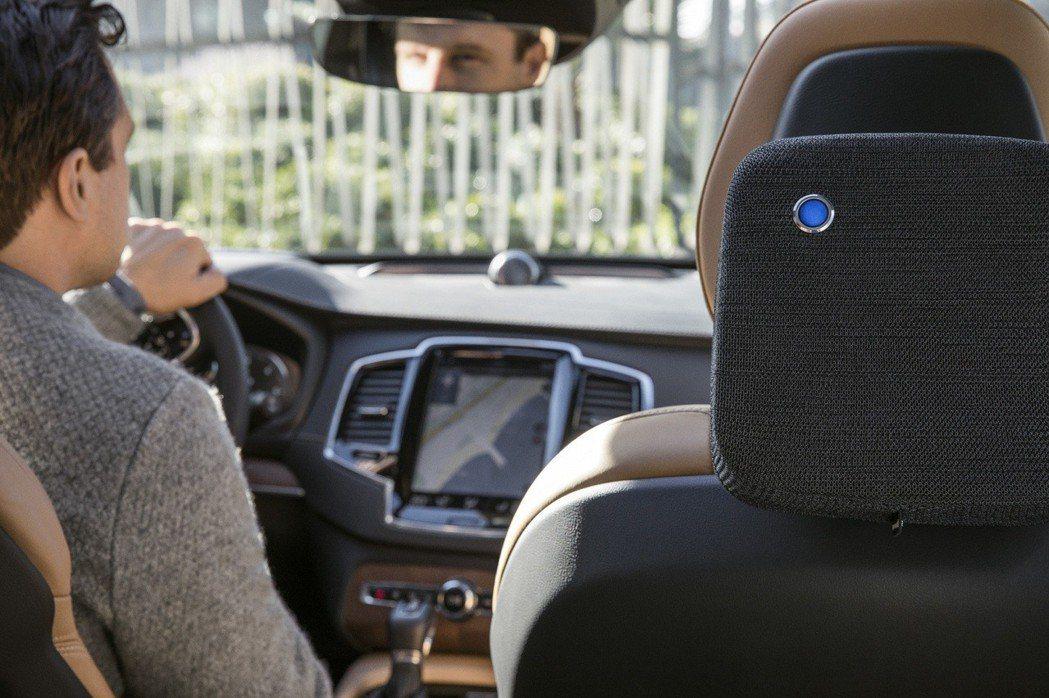 瑞典Blueair空氣清淨機專業品牌,推出新品車用空氣清淨機。 圖/Blueai...