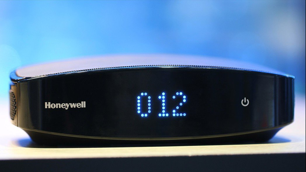 Honeywell PM2.5顯示車用空氣清淨機PM2.5數質顯示,淨化效果即時...