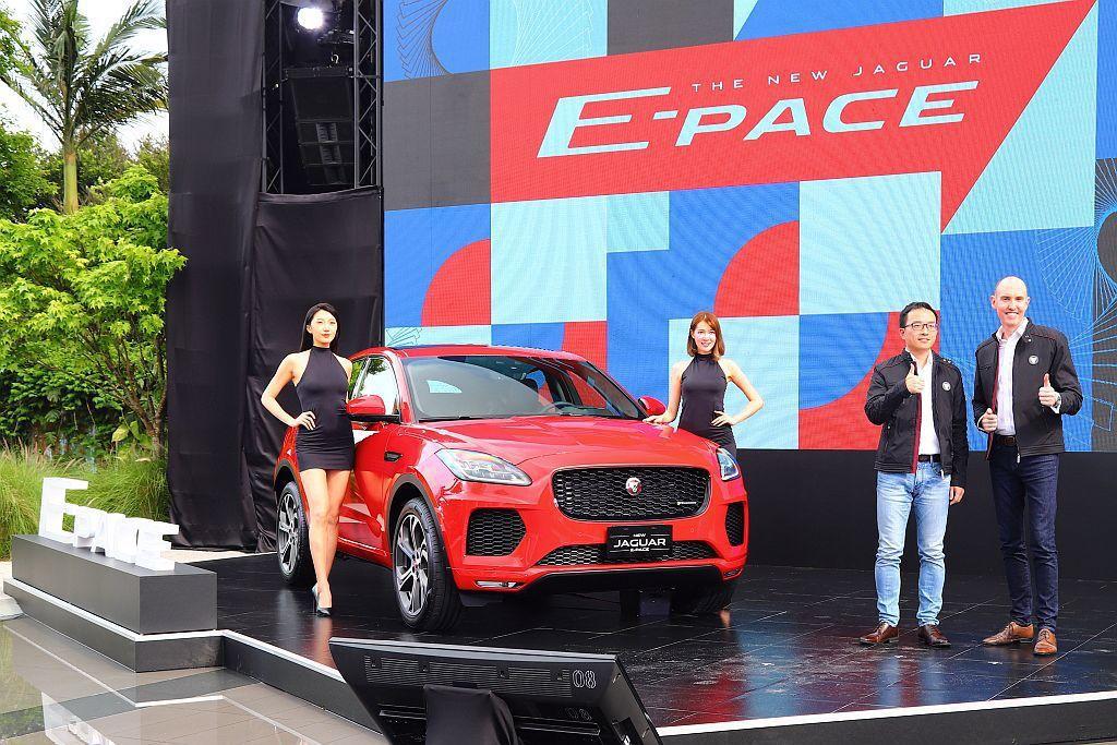 Jaguar旗下最小休旅成員E-Pace正式在台發表上市,相比預售價格全數再調降...