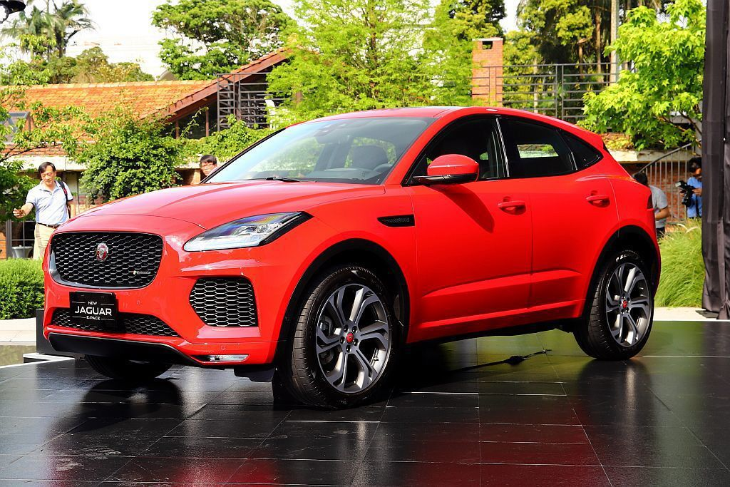 Jaguar E-Pace在台灣市場除提供6款車型可選外,同時也限量導入首年限定...