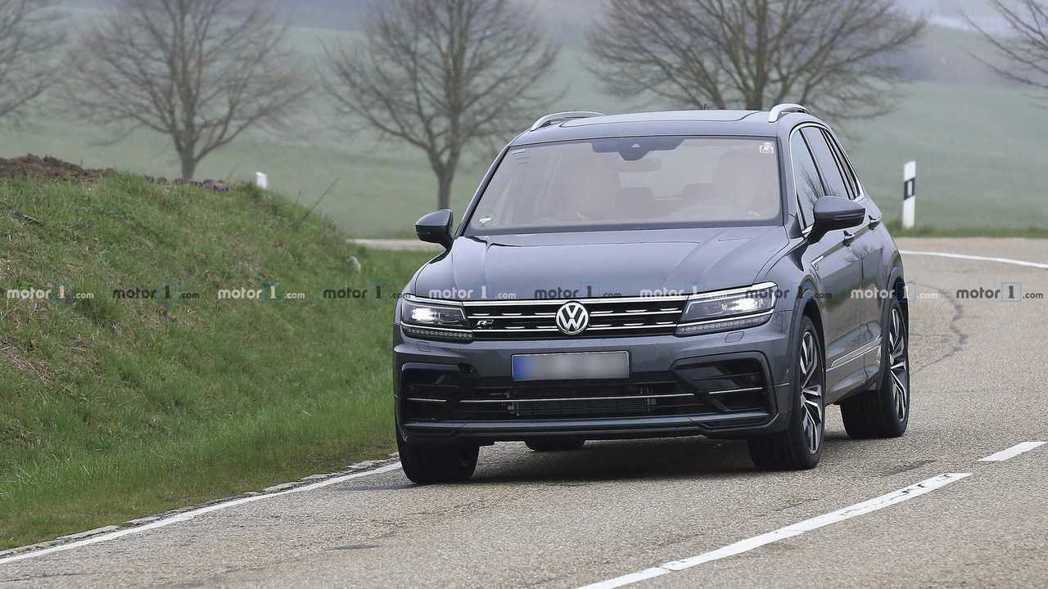 其實Tiguan R一直都有在測試當中。 摘自Volkswagen