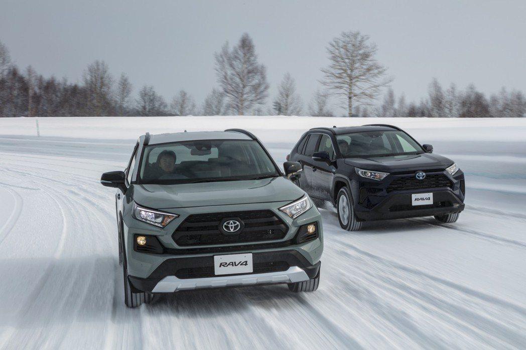 日規Toyota RAV4汽油版車型僅提供2.0升引擎,Hybrid車型則與海外...