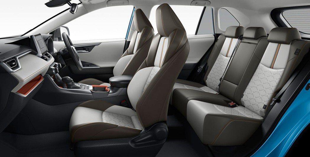 日規Toyota RAV4 內裝。 摘自Toyota