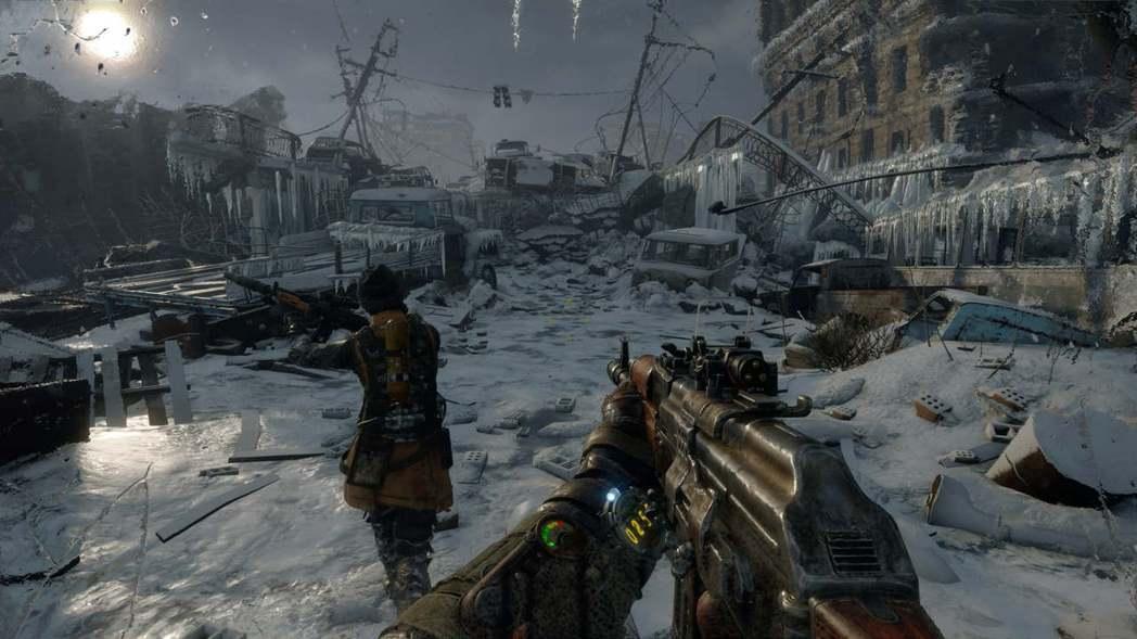 《戰慄深隧:流亡》遊戲畫面