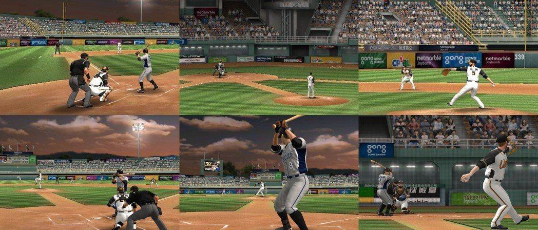 玩家可以從不同角度自由觀賽。