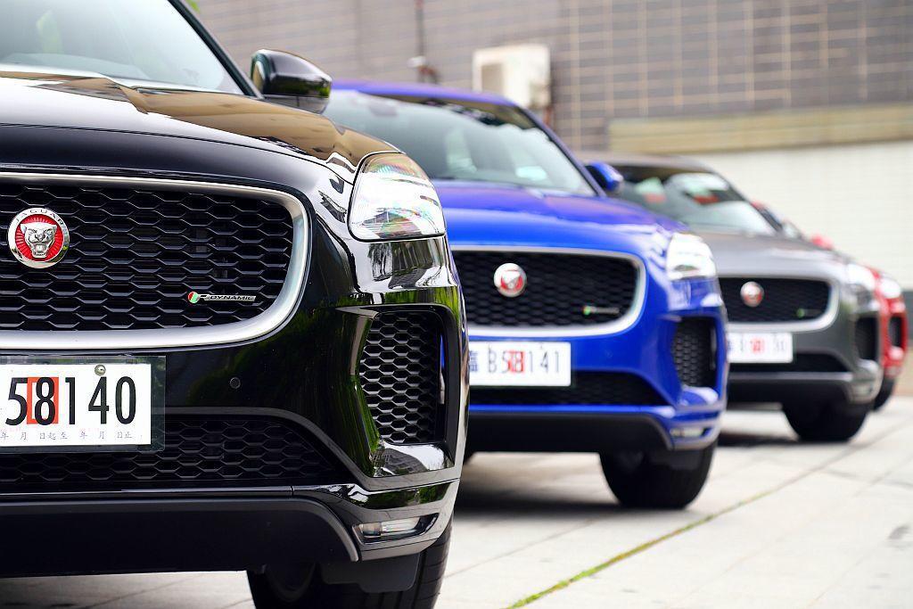 Jaguar Taiwan共導入汽油渦輪P250以及渦輪柴油D150兩種動力可選...