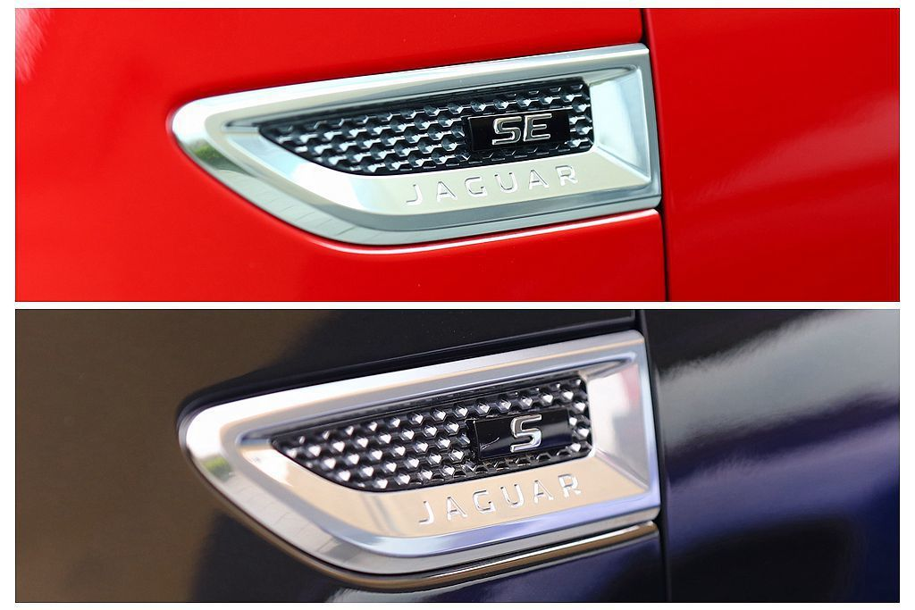 發表後限量升級的Jaguar E-Pace P250 R-Dynamic SE,與S車型最大差異在於擁有更完備的安全防護系統。 記者張振群/攝影