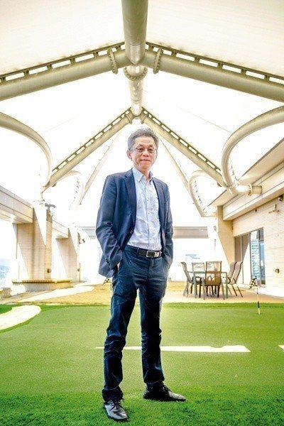 i-Ride飛行劇院九成以上均是在地製造,智崴集團執行長歐陽志宏擦亮MIT招牌。