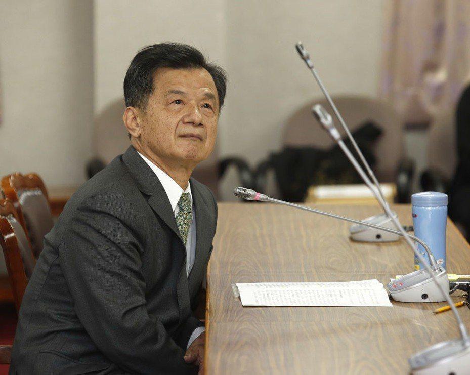 邱太三捲入關說案,向總統請辭國安會首席諮委獲准。攝影/郭晉瑋