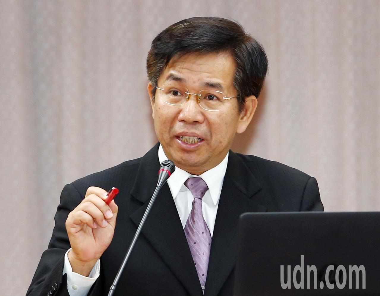 教育部長潘文忠。記者杜建重/攝影