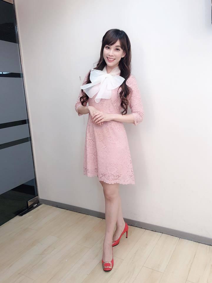東森財經台美女主播劉涵竹。圖/摘自臉書