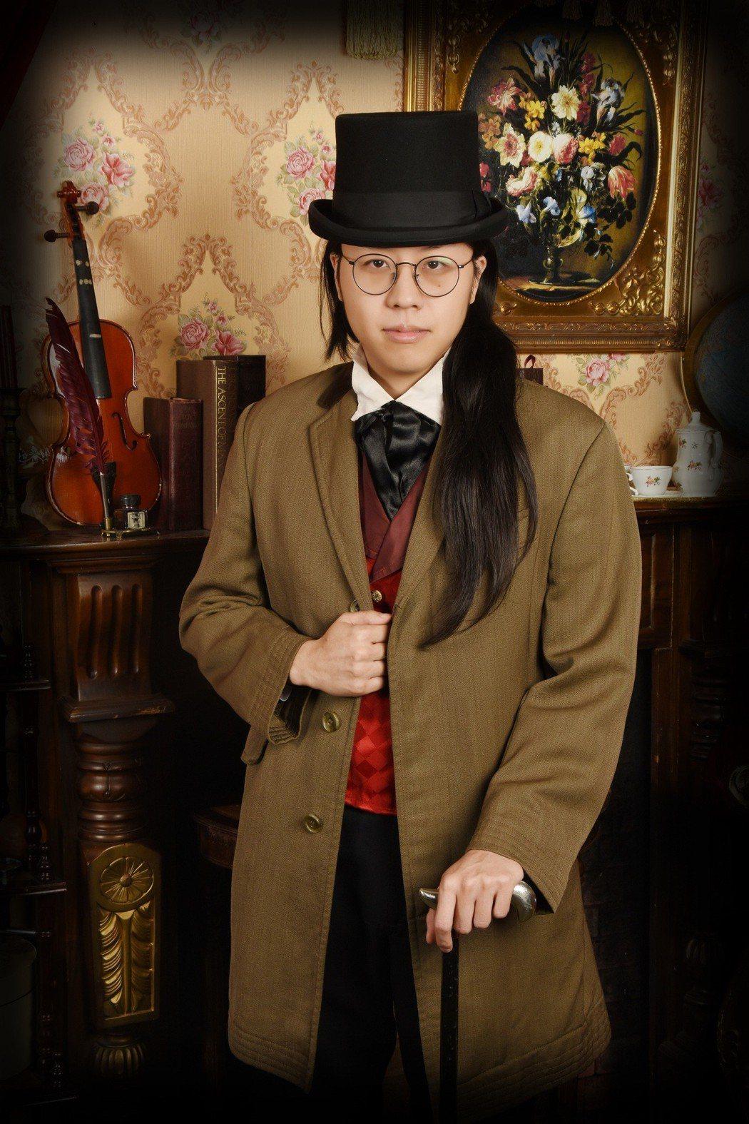 夏道倪推出深情創作「滿天星空」。圖/啟動音樂提供