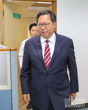 桃園市長鄭文燦。記者陳柏亨/攝影