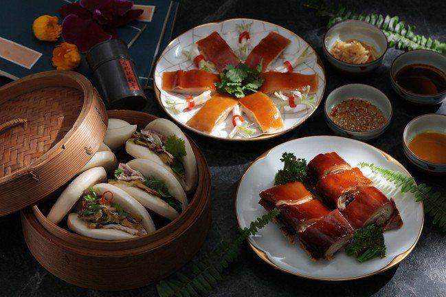 多種吃法的「金銀燒豬」整隻售價9,980、1/2隻6,560元、1/4隻3,28...