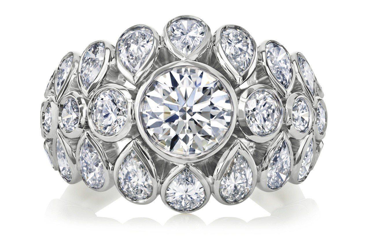 Diamond Legends by De Beers系列Celestia高級珠...