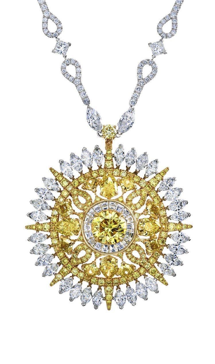 Diamond Legends by De Beers系列Ra高級珠寶鑽石項鍊,...