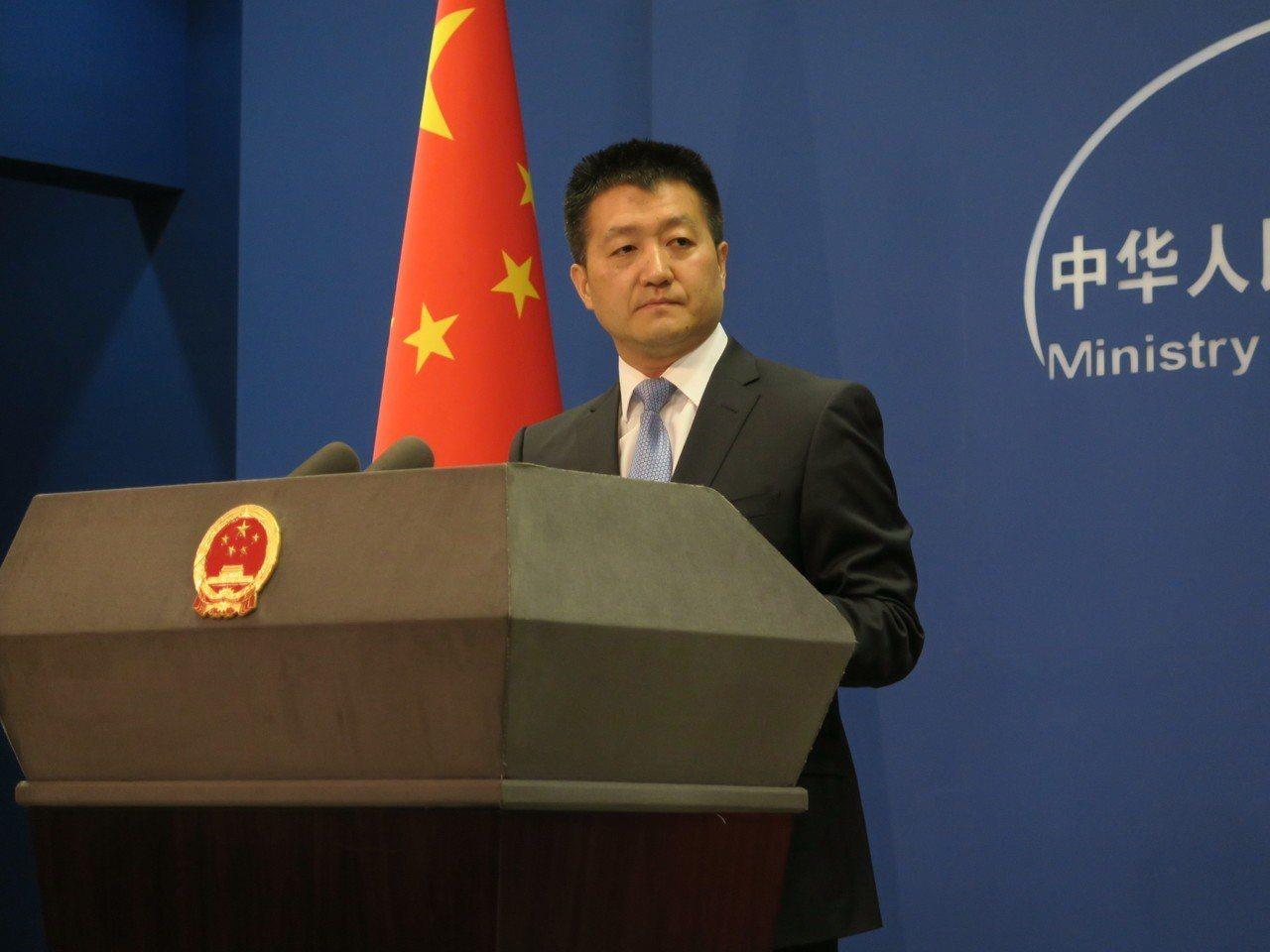 中共外交部發言人陸慷。(本報資料照片)