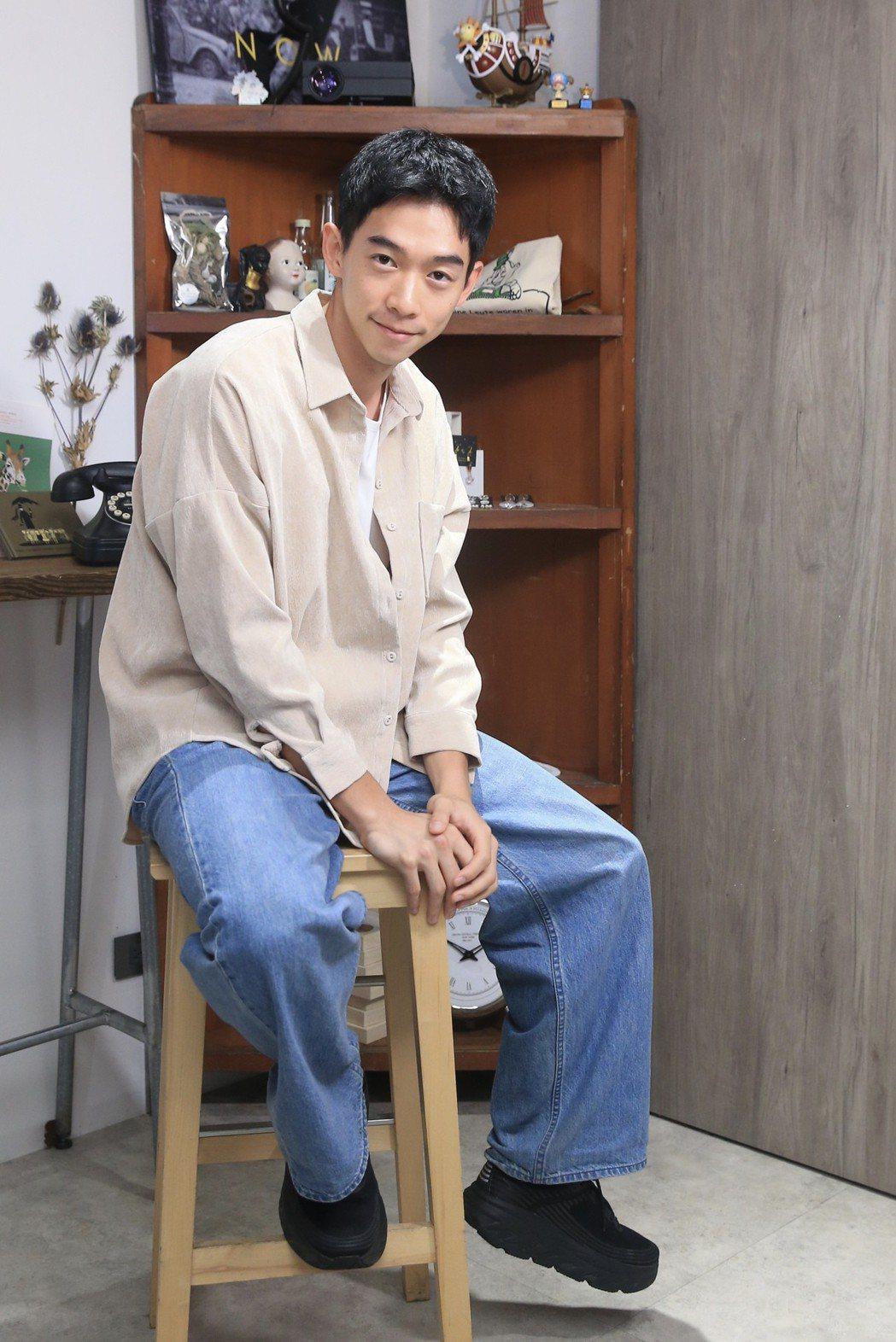 王可元在「與惡」飾演殺人魔李曉明。記者林伯東/攝影