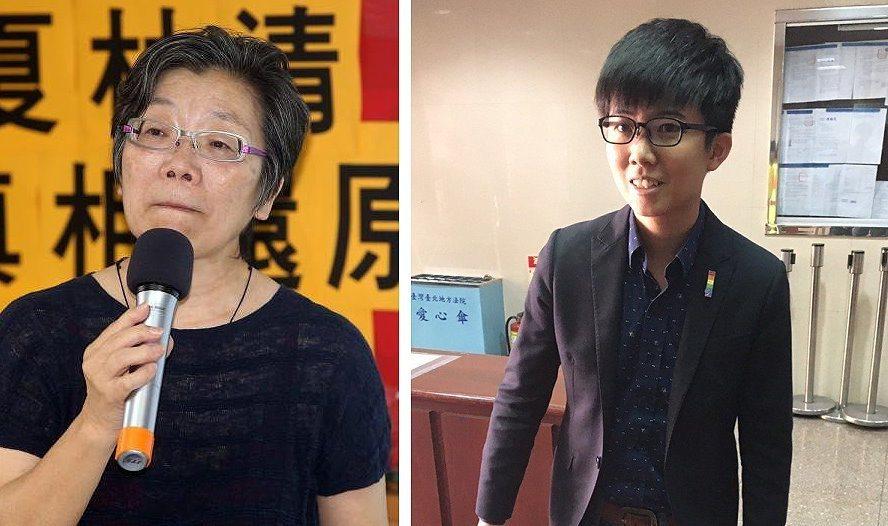 夏林清(左圖)、苗博雅。 聯合報系資料照片