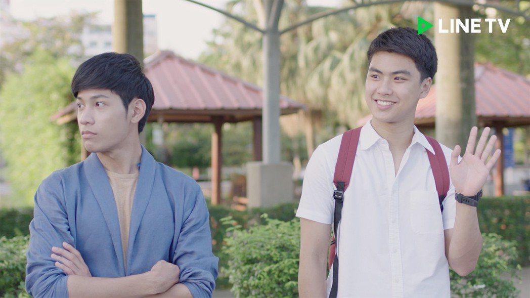Singto(左)、Ohm將來台會粉絲。圖/LINE TV提供