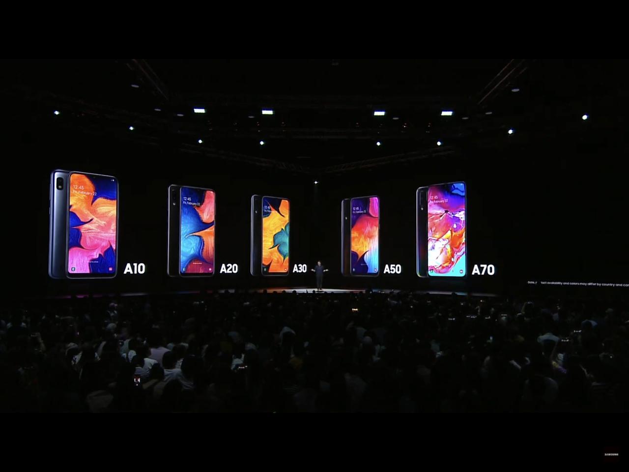 除了Galaxy A80,今年三星還有一系列滿足不同使用需求的A系列新機。圖/摘...