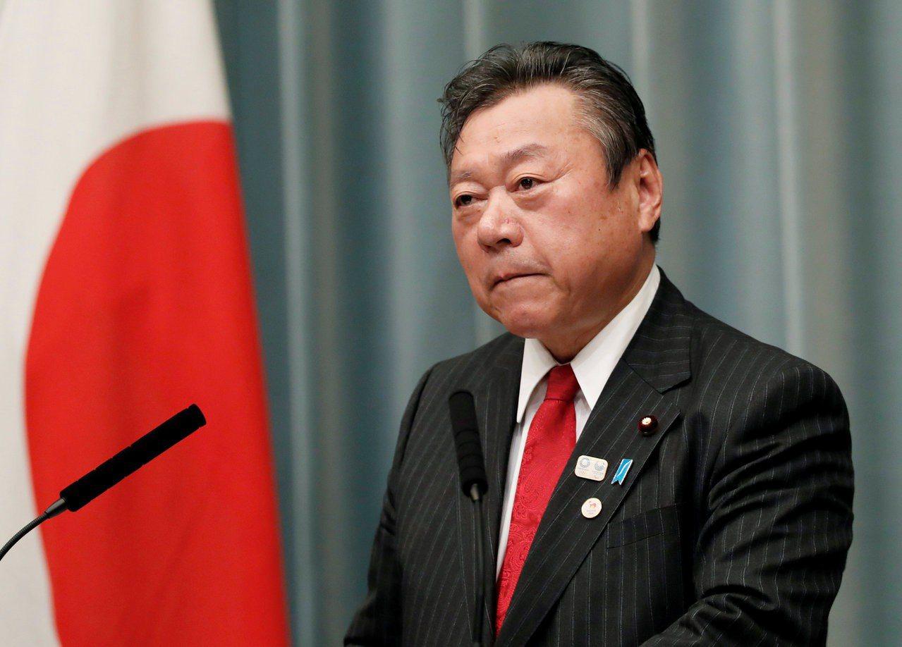 日本奧運擔當大臣櫻田義孝請辭獲准。路透