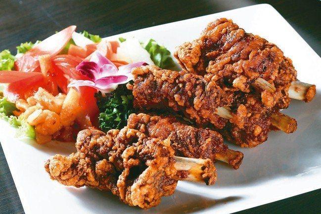 排骨酥是金蓬萊的招牌菜色。圖/報系資料照