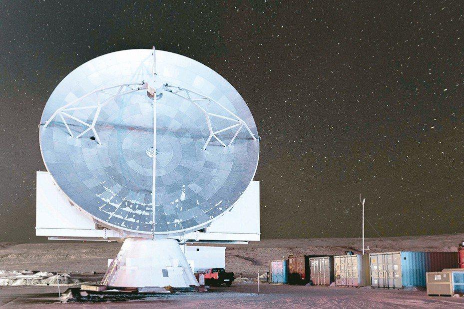 中研院設在格陵蘭的望遠鏡。 圖/中研院提供