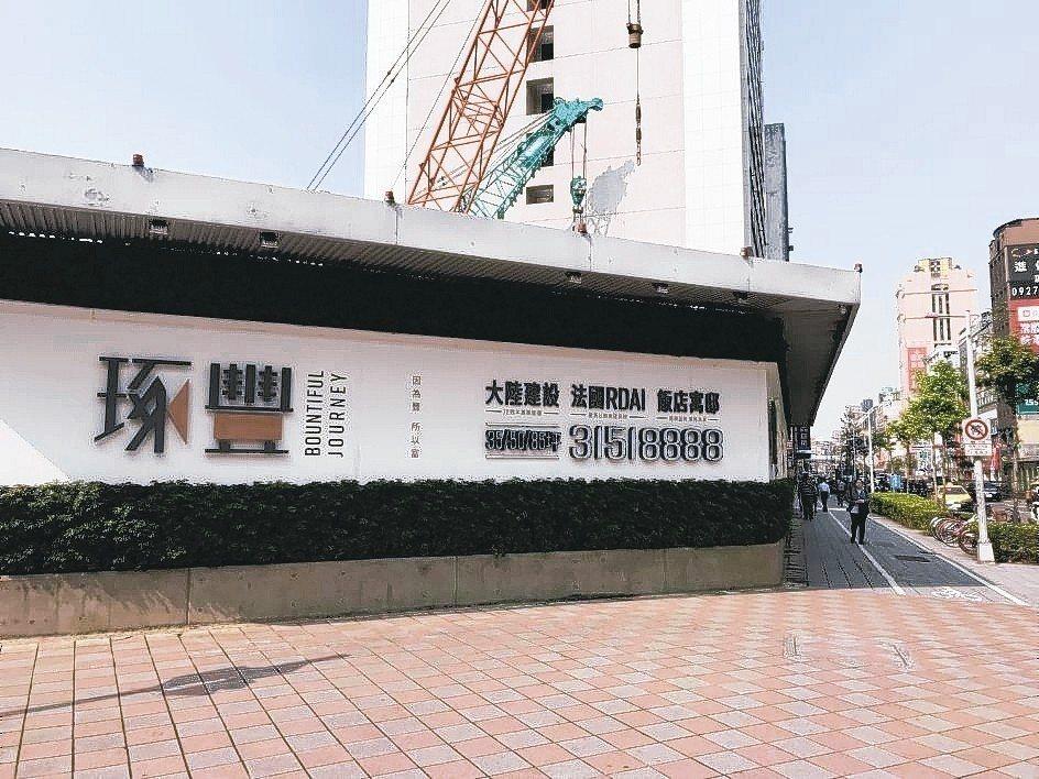 「琢豐」精品飯店寓邸,形塑松江南京地標價值。 業者/提供