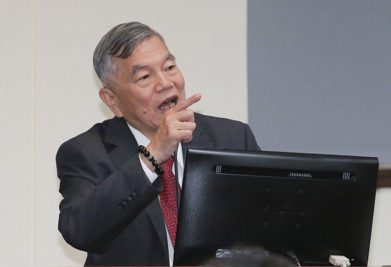 經濟部長沈榮津。聯合報系資料照/記者許正宏攝影