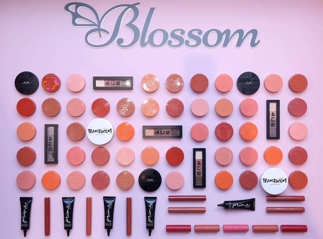 全新美妝選物店「Blossom繁花」獨家引進IG霸屏泰國彩妝品牌4U2。 業者/...