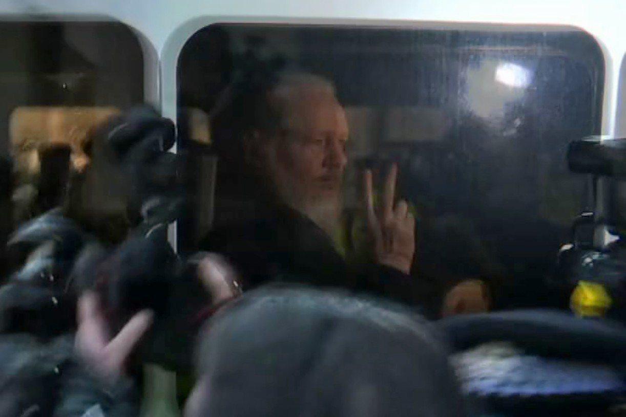 47歲維基解密網站(Wikileaks)創辦人亞桑傑今天遭到英國警方逮捕。法新社