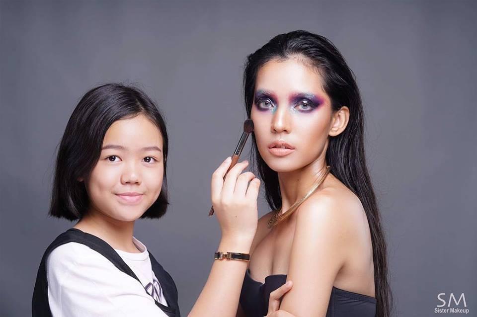 她媽媽相當支持她做自己想做的事,甚至替她報名職業化妝培訓課程,讓她獲得機會學習化...