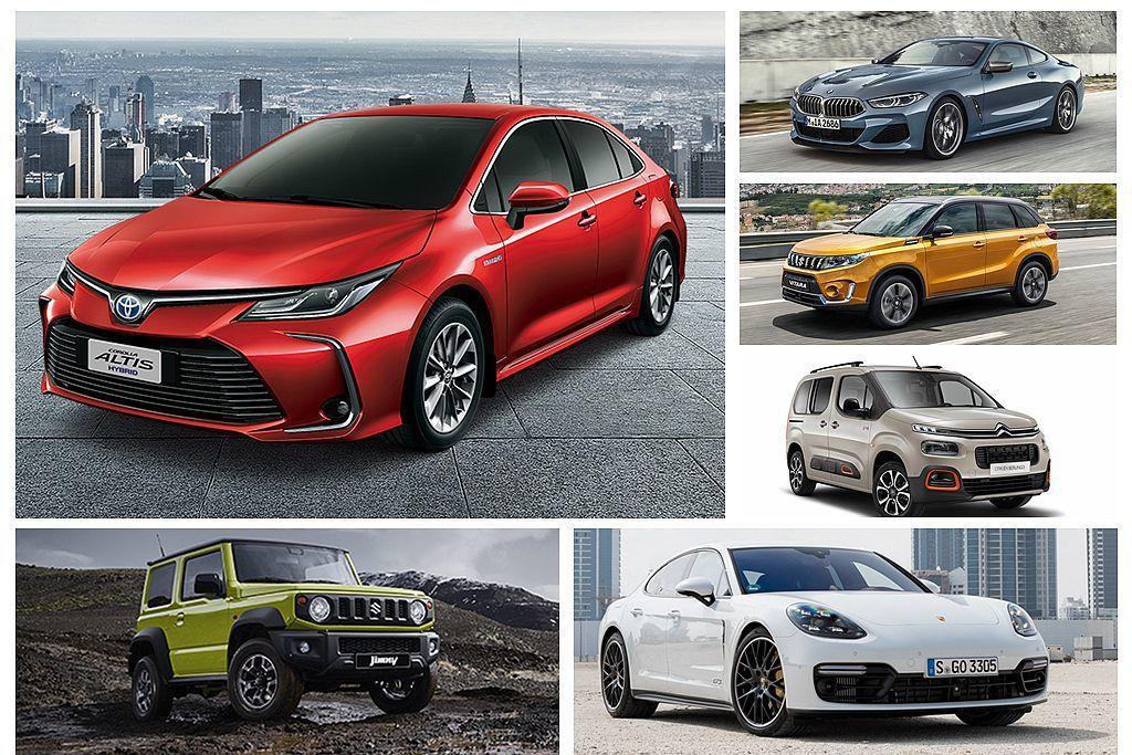 經濟部能源局公布3月新車油耗測試報告,當中Toyota Corolla Alti...