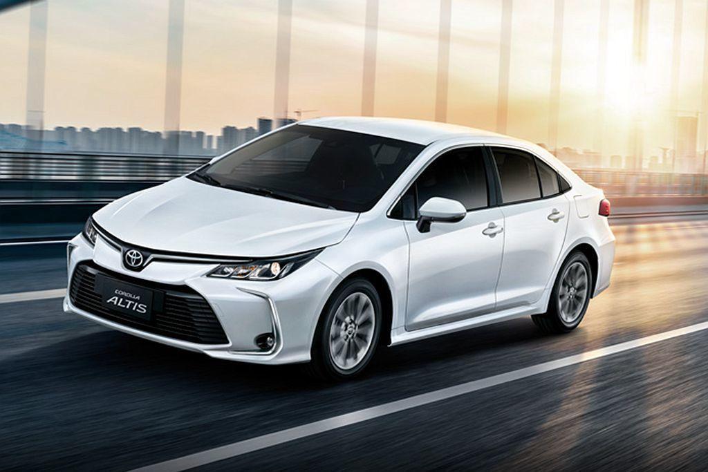 搭載1.8L自然進氣汽油引擎的Toyota Corolla Altis,繳出14...