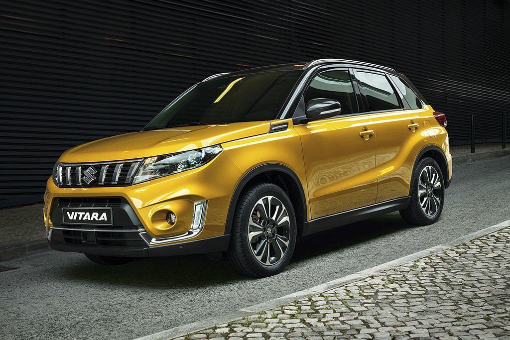 小改款Suzuki Vitara搭載1.4L汽油渦輪引擎,前驅車型平均油耗為17...