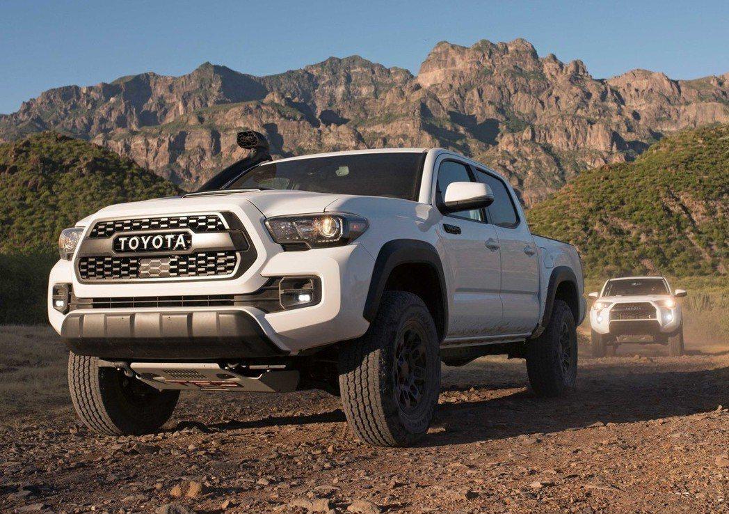 Toyota Tacoma TRD Pro。 摘自Toyota