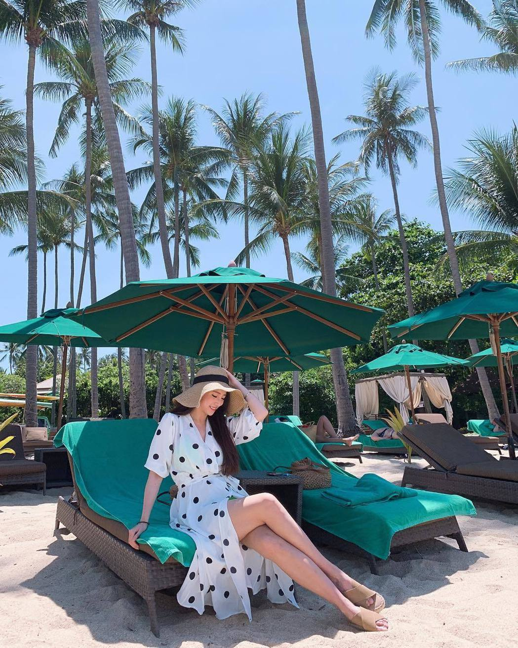 林采緹國外度假。圖/擷自IG