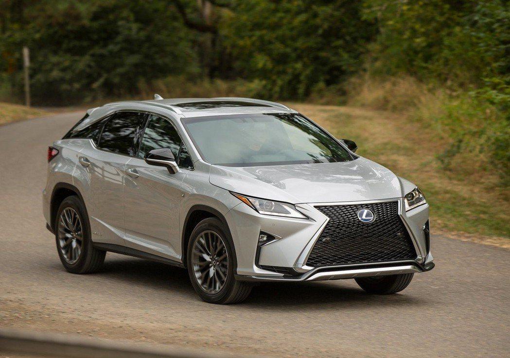 Lexus RX依然穩坐品牌最賣車款。 摘自Lexus