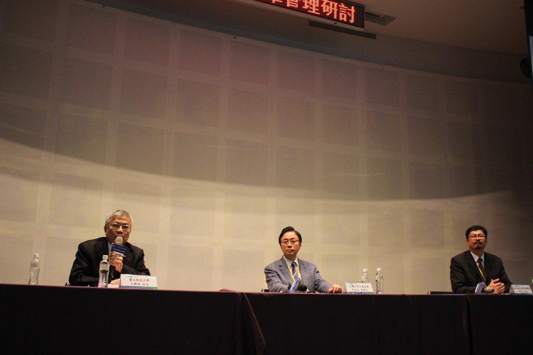 北科大校長王錫福指出,數位轉型是北科大國際產學聯盟重點推廣項目。北科大校長王錫福...