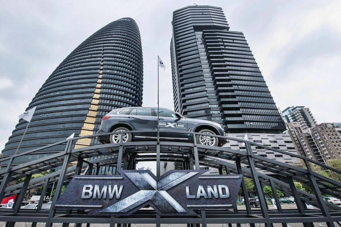 「BMW X LAND」體驗營 大展豪華運動休旅魅力