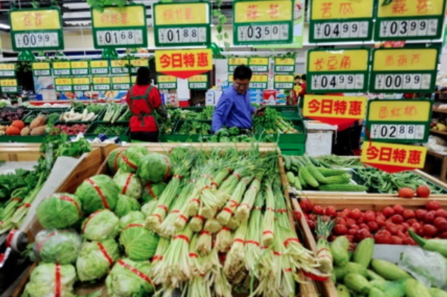 中國3月CPI回升至2.3%,符預期。(香港信報財經網)