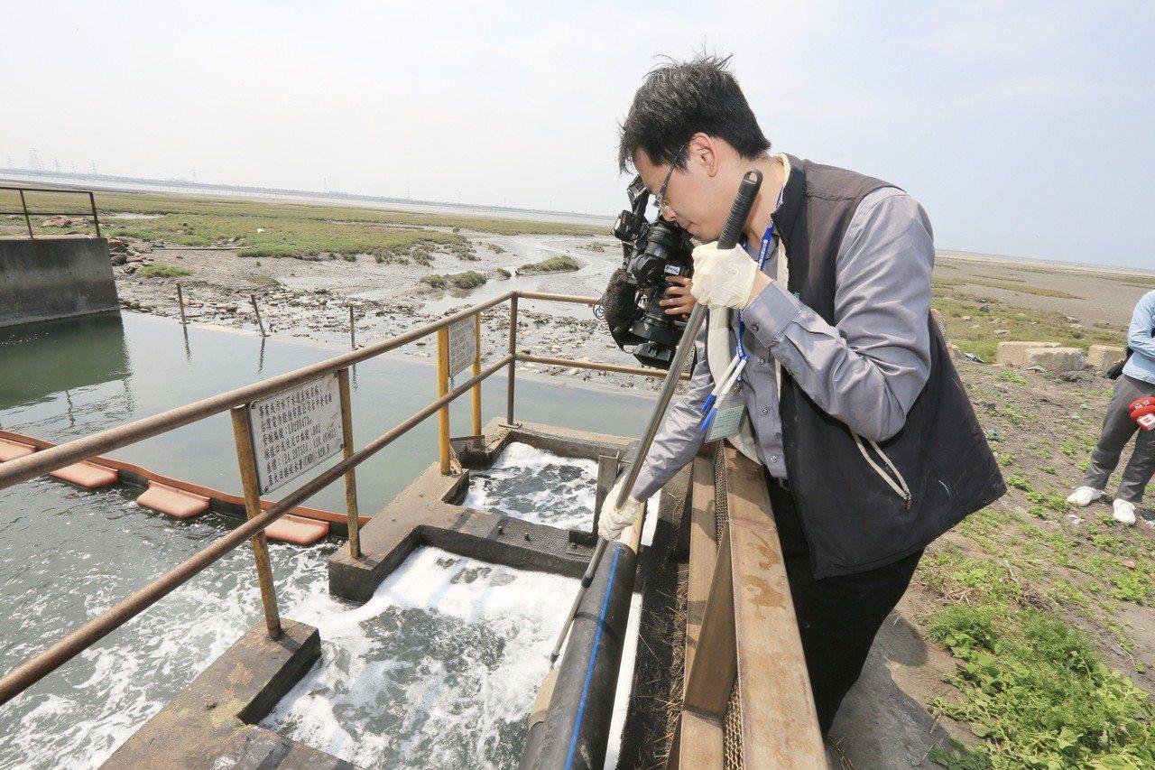 台中火力發電廠在今年短短3個月內被查出3次放流水「硝酸鹽氮」超標。台中市環保局已...