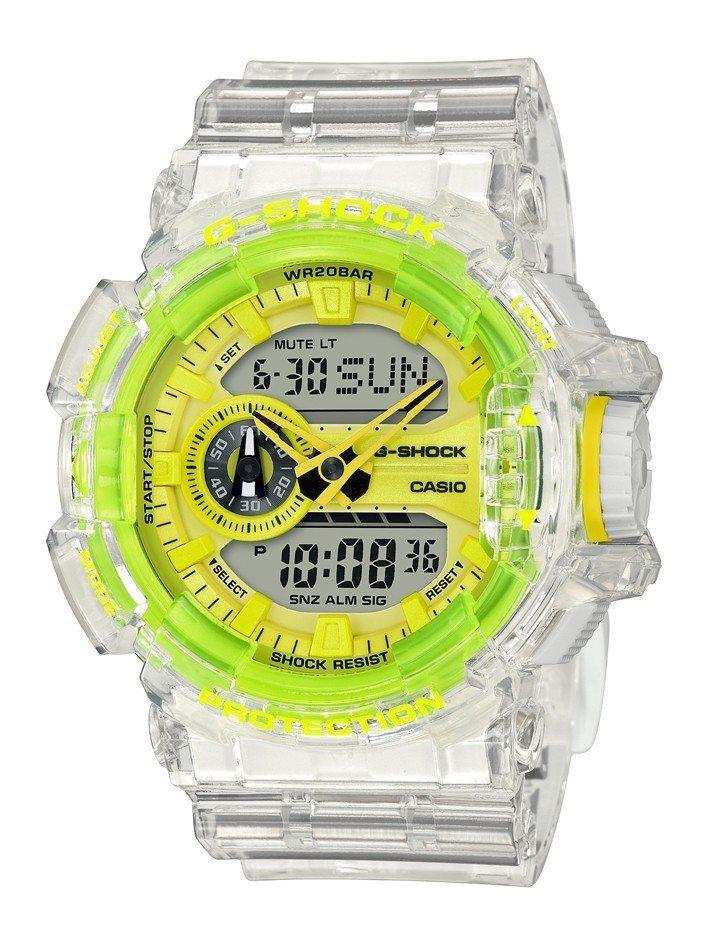 G-Shock GA-400SK-1A9腕表4,500元。圖/Casio提供