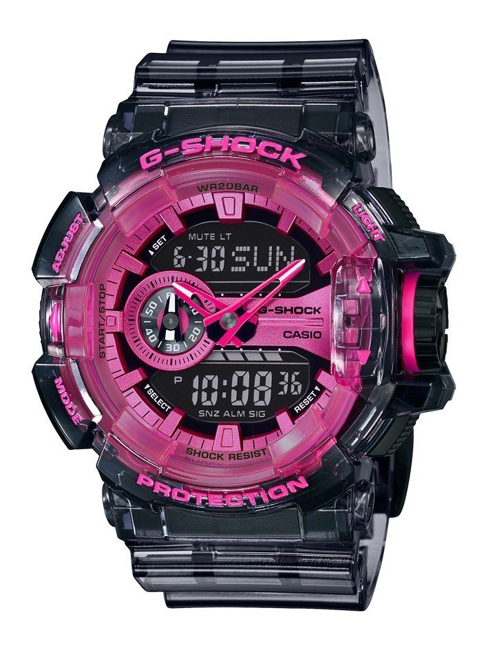G-Shock GA-400SK-1A4腕表4,500元。圖/Casio提供
