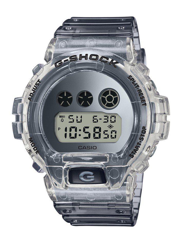 G-Shock DW-6900SK-1腕表2,800元。圖/Casio提供
